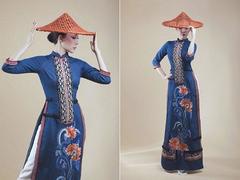 Designer Hà tells story of áo dài