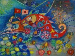 Việt Nam for the first time wins two prizes at the 12th Toyota Dream Car Art Contest