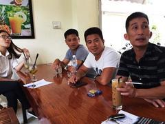 Men build cemetery for burial of fetuses in Quảng Trị