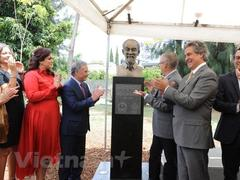 Bust of President Hồ unveiled in Mexico