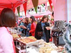 Mouths water as street food festival kicks off