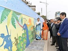 Mosaic reflecting Sri Lankan nature, culture inaugurated