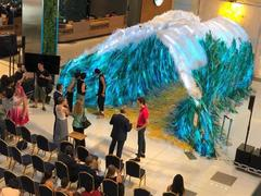 HCM City art installation raises awareness about impact of plastic waste
