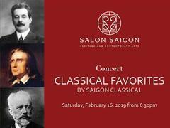 "Salon Saigon hosts ""Classical Favorites"" music night"