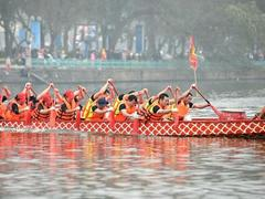 Hà Nội's annual dragon boat race set for February