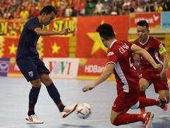 Việt Nam lose to Thailand in semi-final of futsal champs