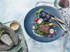 Beef Fillet with Red Cabbage Pesto