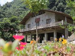 Stone village offers tourism services
