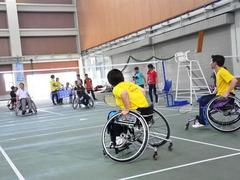 Disabled athletes fight for places at Paragames