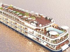 Luxury cruise ship opensCần Thơ-Phnom Penh route