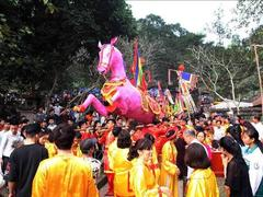 Spring festival in full swing