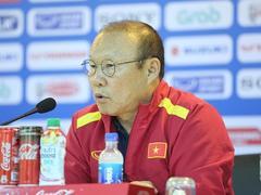 Coach Park feeling the pressure