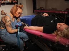 TV tattoo artist takes Scotland by storm