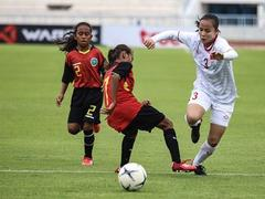 Việt Nam beat Timor Leste at AFF football champs