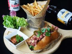 Mövenpick style hotdog