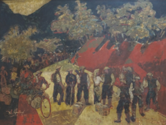 National museum displays Điện Biên Phủ artworks