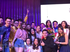 Vietnamese student comes third at Miss Asia Ural 2019