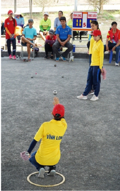 National youth petanque champs begin in Hà Nội