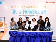 Tiki, FAHASA commit to offer quality books