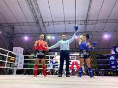 Nhất reaches semi-finals of World Muay Thai Championships