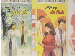 Books on family values by late female writer Bà Tùng Long  republished