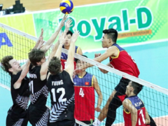 Việt Nam beat New Zealand at Asian volleyball champs