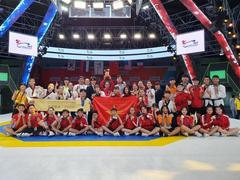 Việt Nam finish third at world taekwondo champs