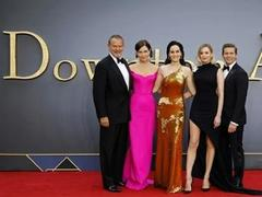 Silver spoon to silver screen: Downton Abbey makes cinematic debut