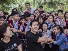 Korean celebs join UNICEF to stop bullying in Việt Nam