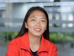 Striker Huỳnh Như, born to play football