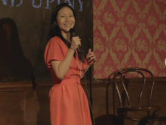 New York-based female comedian at Yoko Cafe
