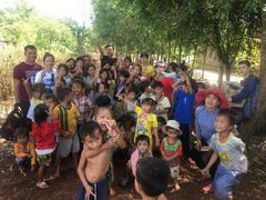 Christmas charityproject targeted poor kids in Tây Ninh Province