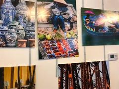 Photos and sculptures on Việt Nam displayed in Hungary