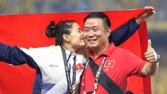 Athletic coach Vũ Ngọc Lợi plays a key role in many athletes' success