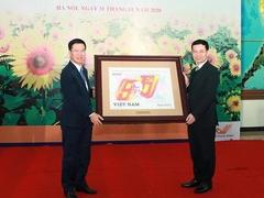 Stamp launched to celebrate Party's 90th anniversary