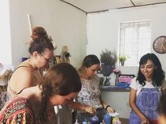Upcycling clothes workshop by Consocia