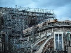 Renovation of France's Notre-Dame to resume on Monday