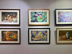 Nine young artists take part in 'Sunshine' exhibition