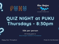 Puku to host charity quiz night in aid of Blue Dragon