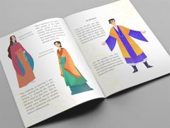 Bilingual book introduces Vietnamese costumes in the 15th century