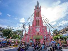 Tân Định Church among the world's best 'pink' destinations