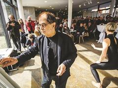 Exhibition shows artworks inspired by music
