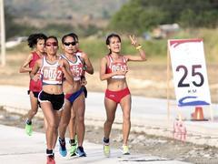 Phạm Thị Hồng Lệ the favourite for Lý Sơnmarathon