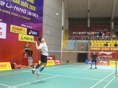 Badminton tournament underway in Hải Dương