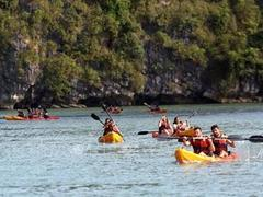 Explore VN's beautiful sites by kayak