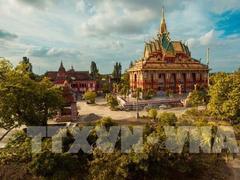Discovery Khmer culture at Xiêm Cán Pagoda
