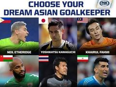 Fox Sports picks Lâm as one of Asia best nine keepers