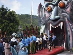 New ghostly and macabre tourist area in Đà Lạt City