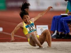 Baby on the way, long jump champThảo eyes competition
