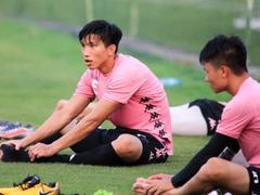Knee injury forced Hậu out of action for six weeks